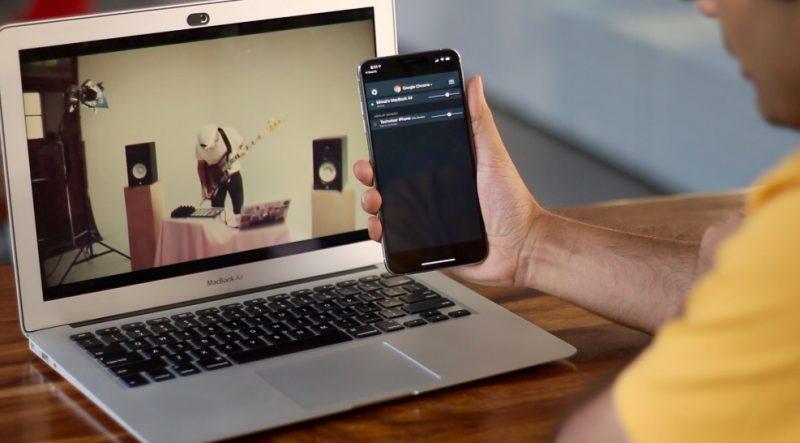 كيفية استخدام iPhone كمكبر صوت لجهاز Mac