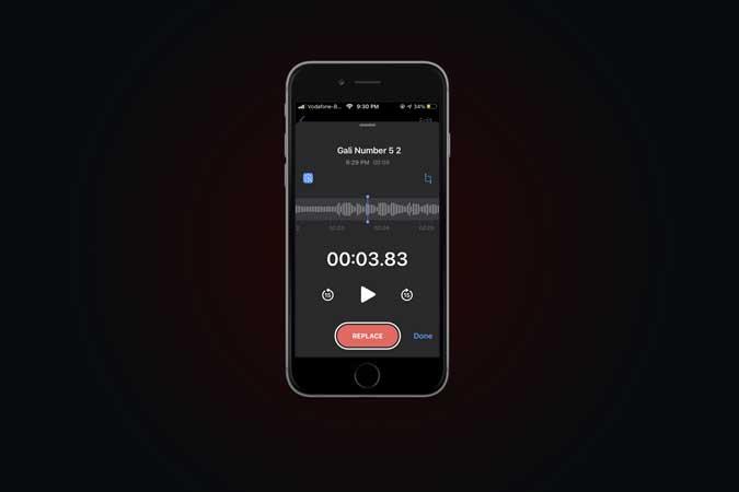 كيفية تقليل ضوضاء الخلفية في المذكرة الصوتية على iOS 14
