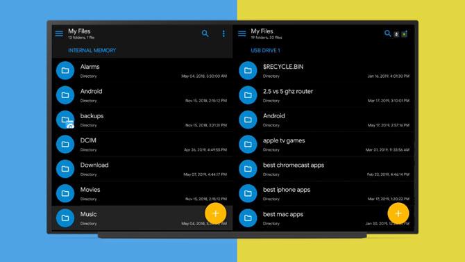 إليك أفضل 5 مديري ملفات لأجهزة Android TV في عام 2019