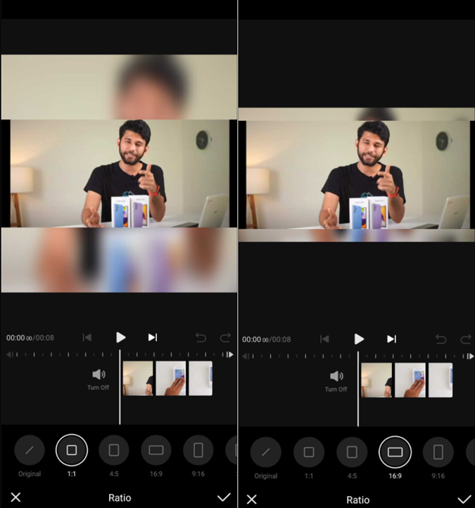 how to make a video fit on Instagram