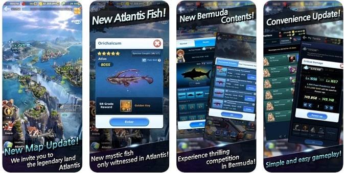 1 . صيد الآس: الصيد البري Ace Fishing: Wild Catch - أفضل ألعاب صيد للأندرويد