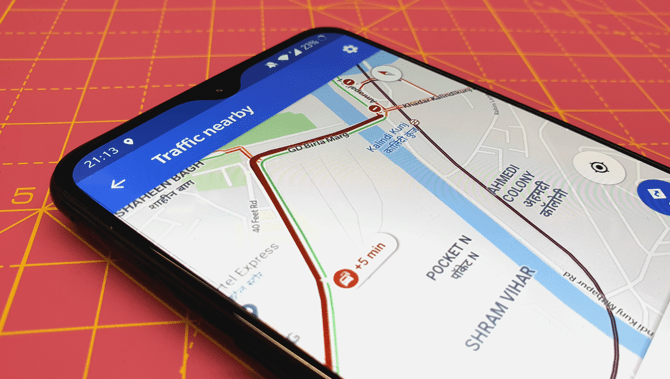 كيفية توقع حركة المرور على خرائط Google لنظام Android