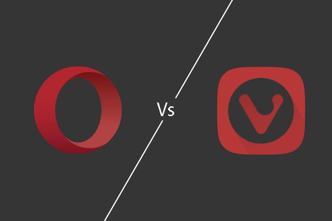 Opera مقابل . فيفالدي: وهو أكثر خصوصية وغنى بالميزات