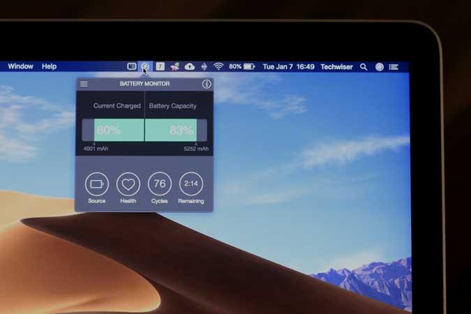 كيفية التحقق من صحة البطارية على جهاز Macbook