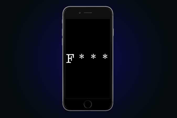 كيف تمنع iPhone من التصحيح التلقائي للكلمات السيئة؟