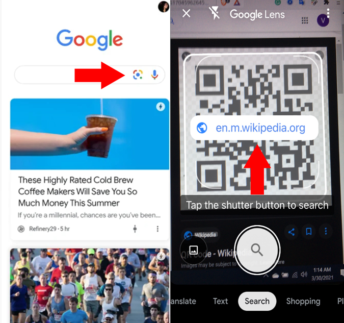 Google lens for iPhone