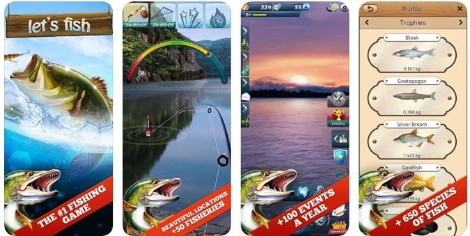 دعونا السمك Let's Fish: Sport Fishing Games - العاب 2021 بدون نت