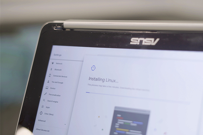 كيفية توسيع مساحة التخزين لنظام Linux على جهاز Chromebook الخاص بك