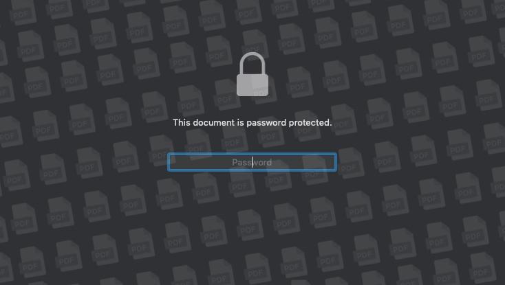 4 طرق لحماية ملفات PDF بكلمة مرور على نظام Mac