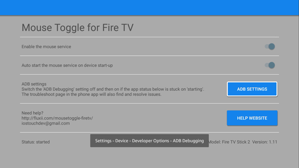 best firestick apps- Mouse Toggle