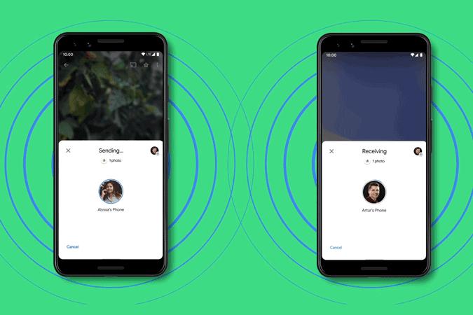 كيفية تعطيل ميزة المشاركة القريبة على Android