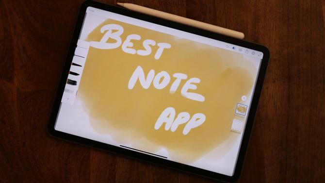 أفضل تطبيقات تدوين الملاحظات لأجهزة iPad Pro 2019