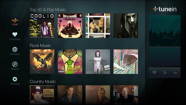 best firestick apps- TuneIn Radio